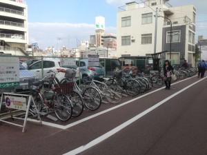 姫路 駅前広場活用協議会 一時駐輪 駅東